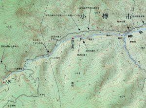 穴滝&雨乞の滝周辺地図