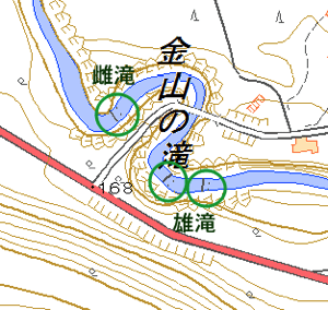 kanayama-no-taki-map