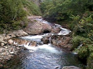 ライオンの滝(赤井川村)