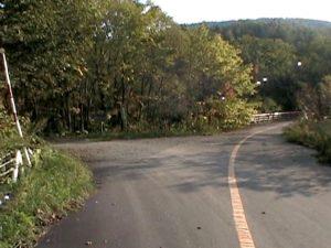 七線沢林道入口