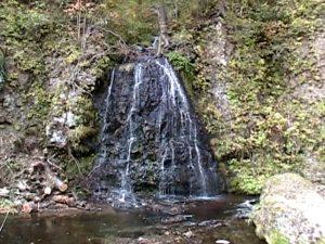 行者の滝(西興部村)