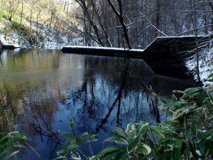 モイチャン川の3つ目の堰堤