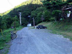 壮瞥滝駐車スペース