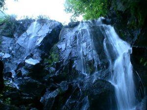 壮瞥滝の上部