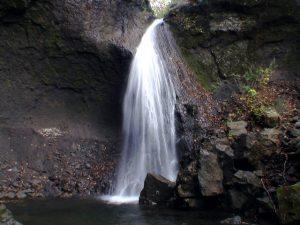 不動尊 聖の滝 正面の図
