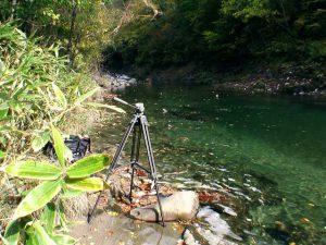 滝正面の撮影ポイント