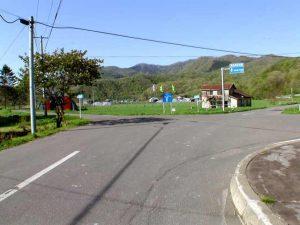 道道分岐から2kmほどの二股
