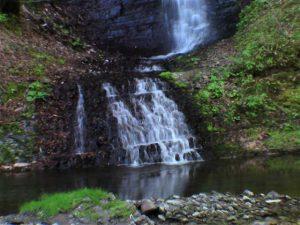 ショロマの滝 下の渓流部分
