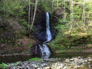 ショロマの滝