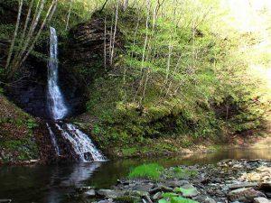 ショロマの滝とショロマ川