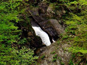 ショシベツの滝の上段