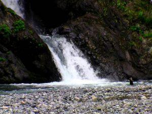 ショシベツの滝下段