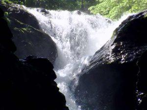 上大滝の上段部分
