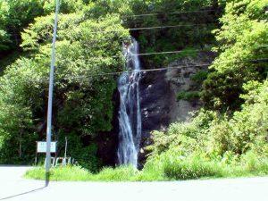 三味線滝(鹿部町)