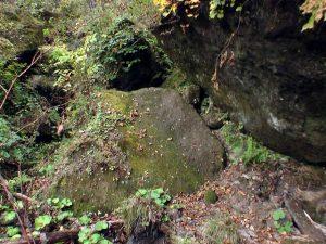 背丈以上の岩を超えることも