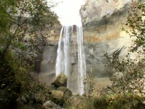 インクラの滝全景
