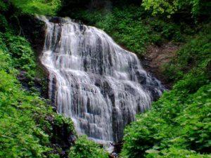 檜沢の滝核心部