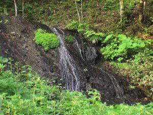 斜めから見た黒滝
