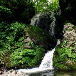 吉岡不動の滝(福島町)