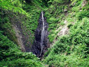 貝取澗渓谷無名滝1の核心部