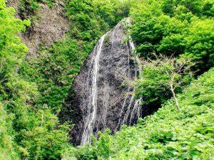 白糸の滝の核心部