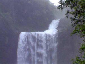賀老の滝落口