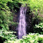 切梶川支流の滝全景