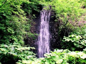 切梶川支流の滝