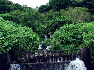政泊川一番下流の堰堤