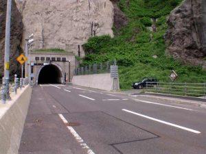須築トンネル南側