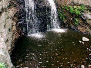 藻岩の滝 滝つぼ