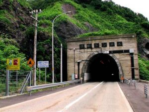 須築トンネル北側入り口