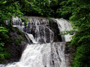 オオシュブンナイの滝上段