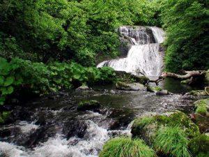 オオシュブンナイの滝(今金町)