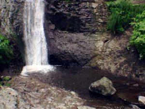 横滝の滝つぼ