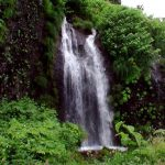 中の滝(神恵内村)