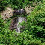 あっちの滝 核心部のアップ