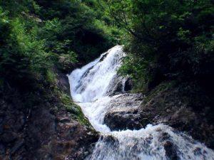 紅葉の滝 上段