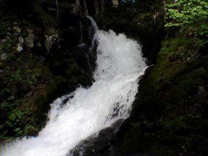 ポンベツの滝の上部