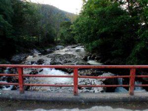 神居橋の上から撮影