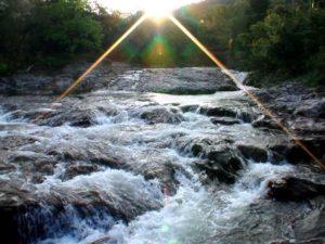 神居橋の下流から撮影した武利川の画像1
