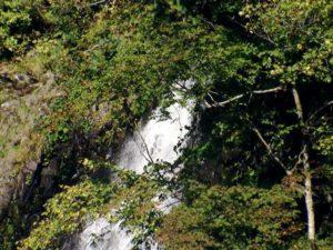 ソウベツ川大滝上流の上部