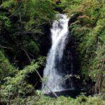 下流側の大滝核心部