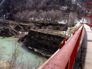 千鳥橋を渡ると展望スペース