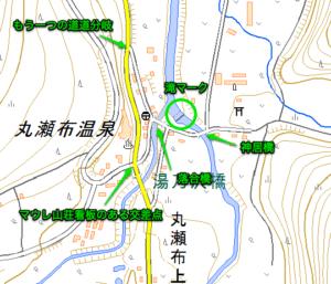 神居滝周辺マップ