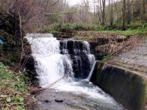 歌音の滝 右岸からの画