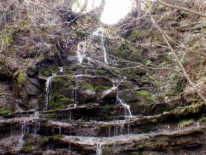 無名滝1の核心部