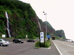 白銀の滝駐車場