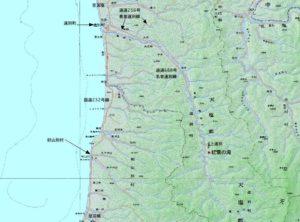 2007年に作成した地図