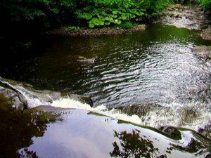 一の滝の落口